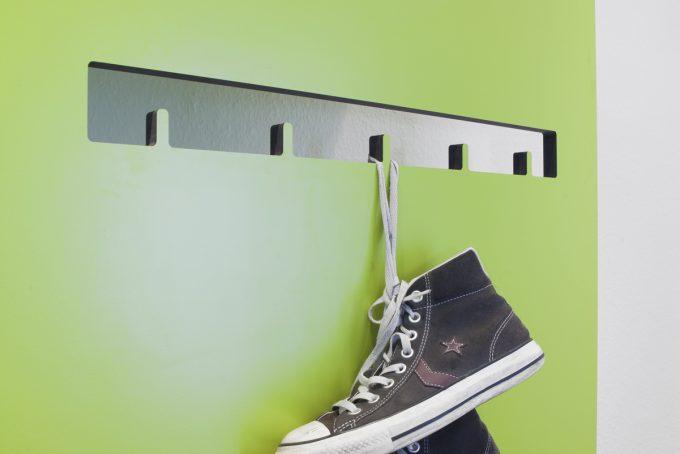 CnC gefräste Garderobe mit Schuh