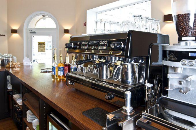 Thekenbereich Cafe Asemann Dortmund