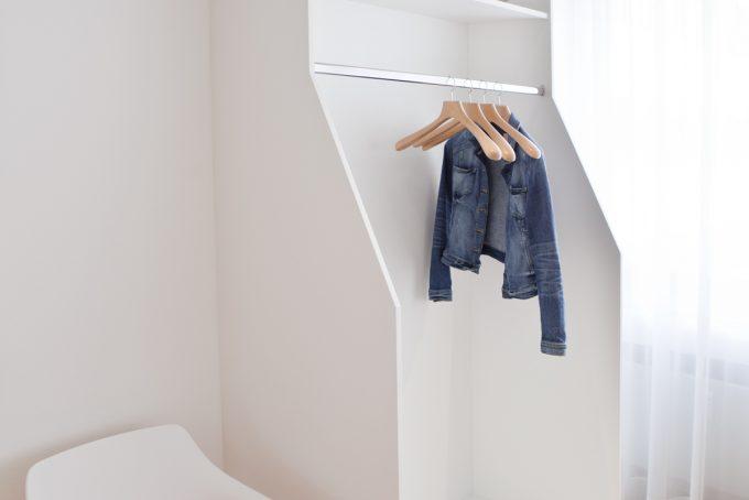 Garderobe in Lack