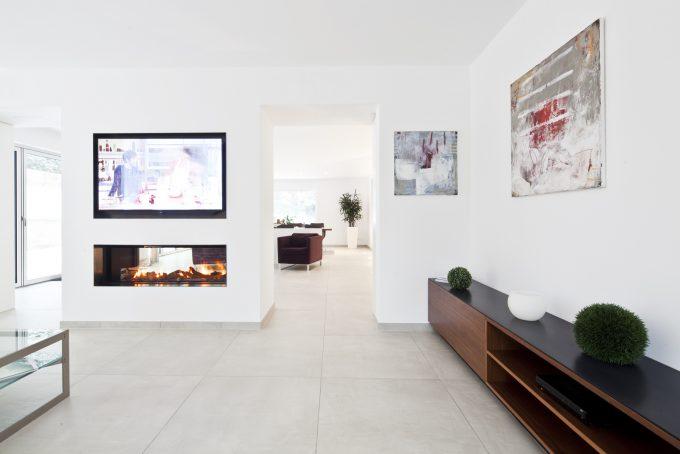 Wohnzimmergestaltung mit TV Möbel